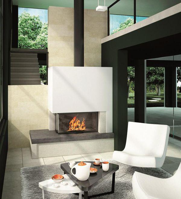 Conception de cheminée design